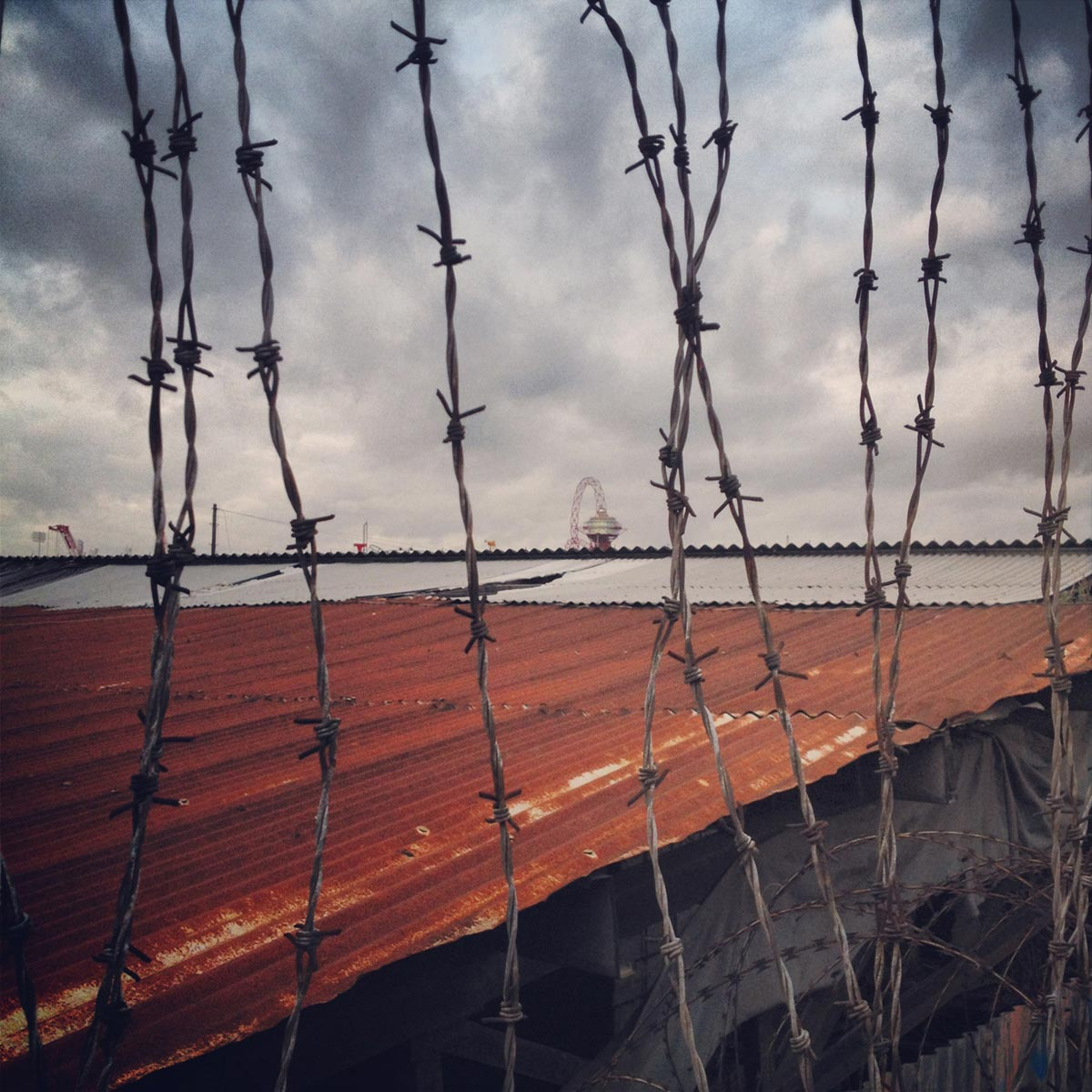 Barbed wire, Stratford City