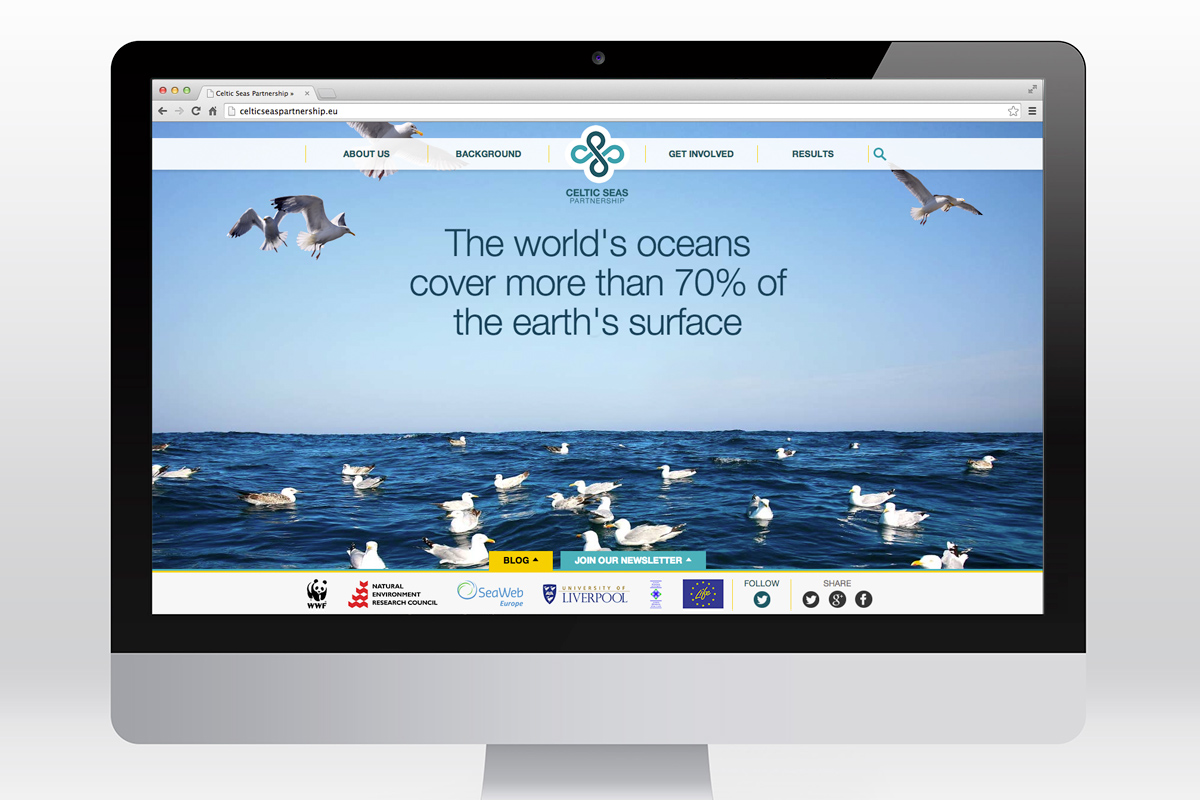 Celtic Seas Partnership website