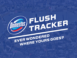 Domestos - Flush Tracker