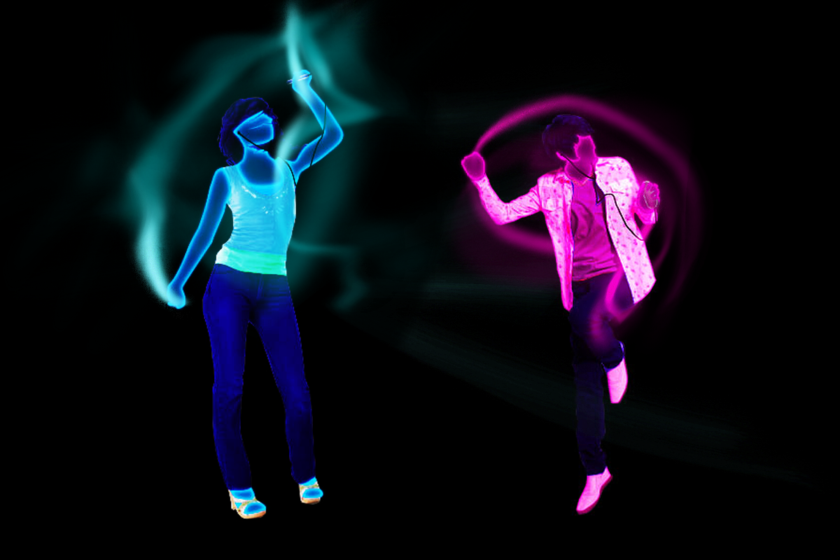 Samsung - The Last Call animated dancers