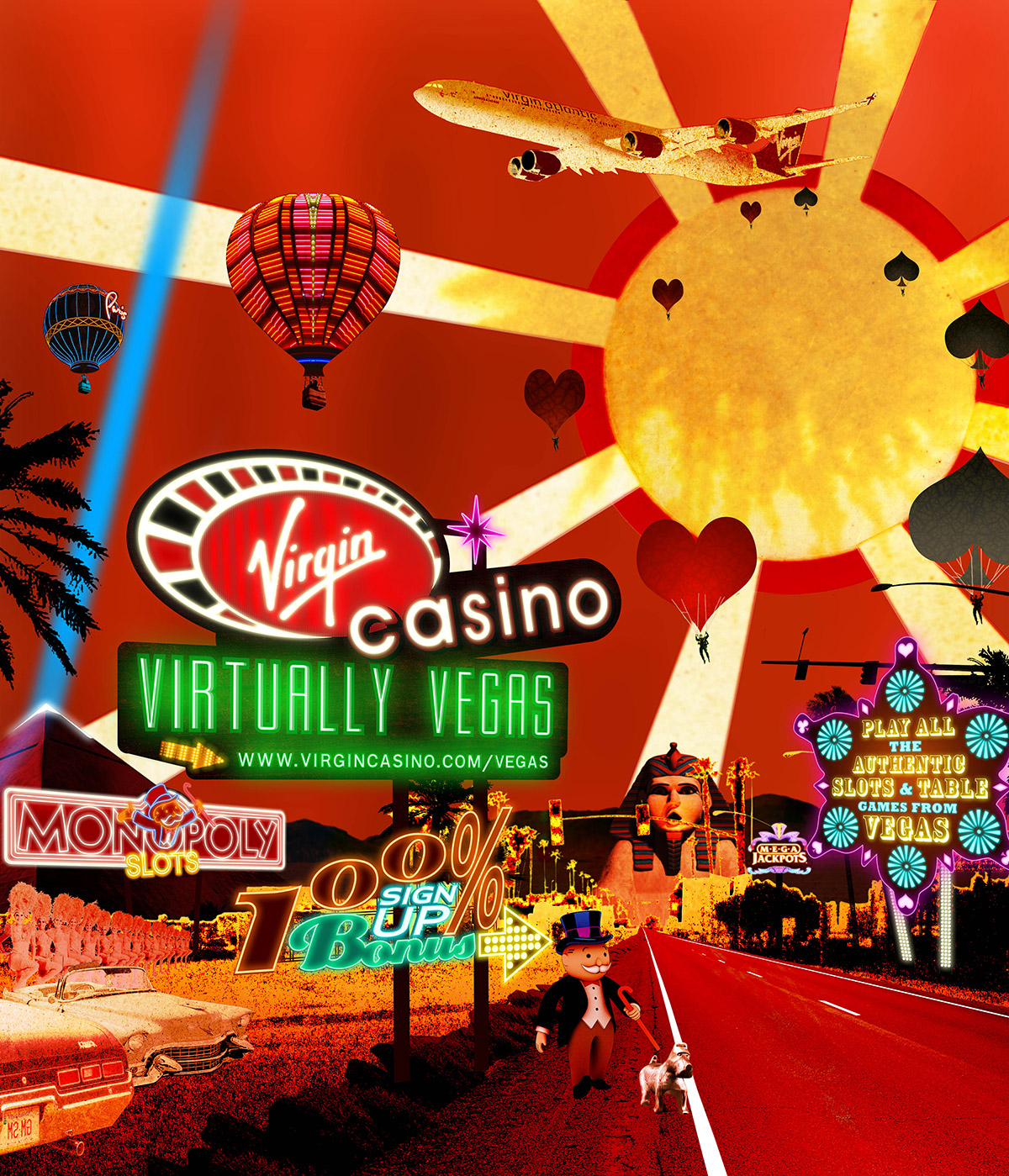 Virgin Casino - Virtually Vegas poster