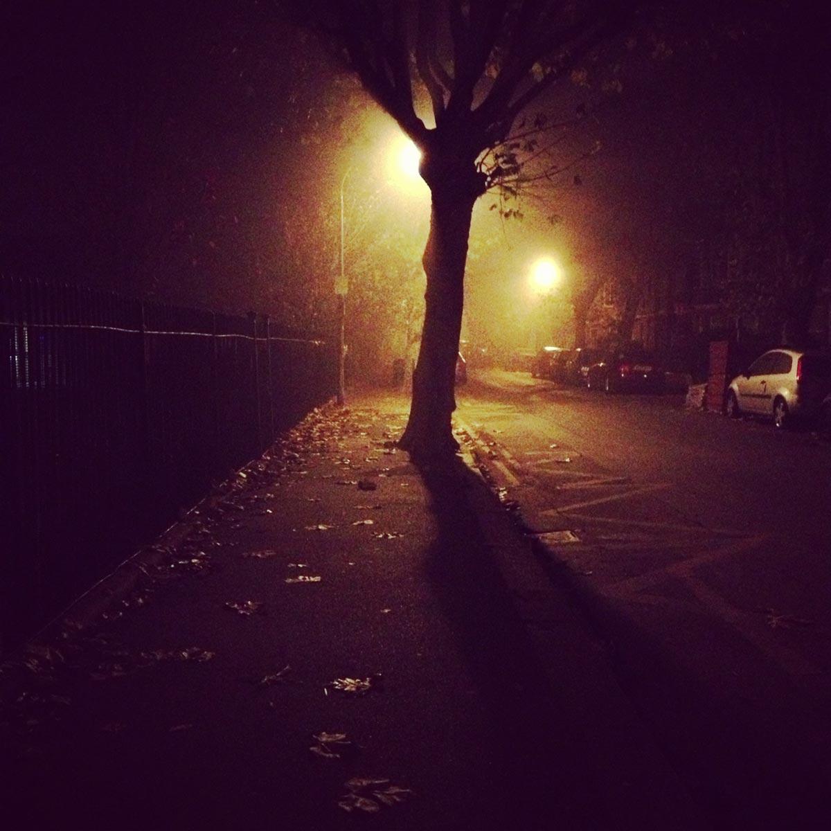 Walthamstow by night