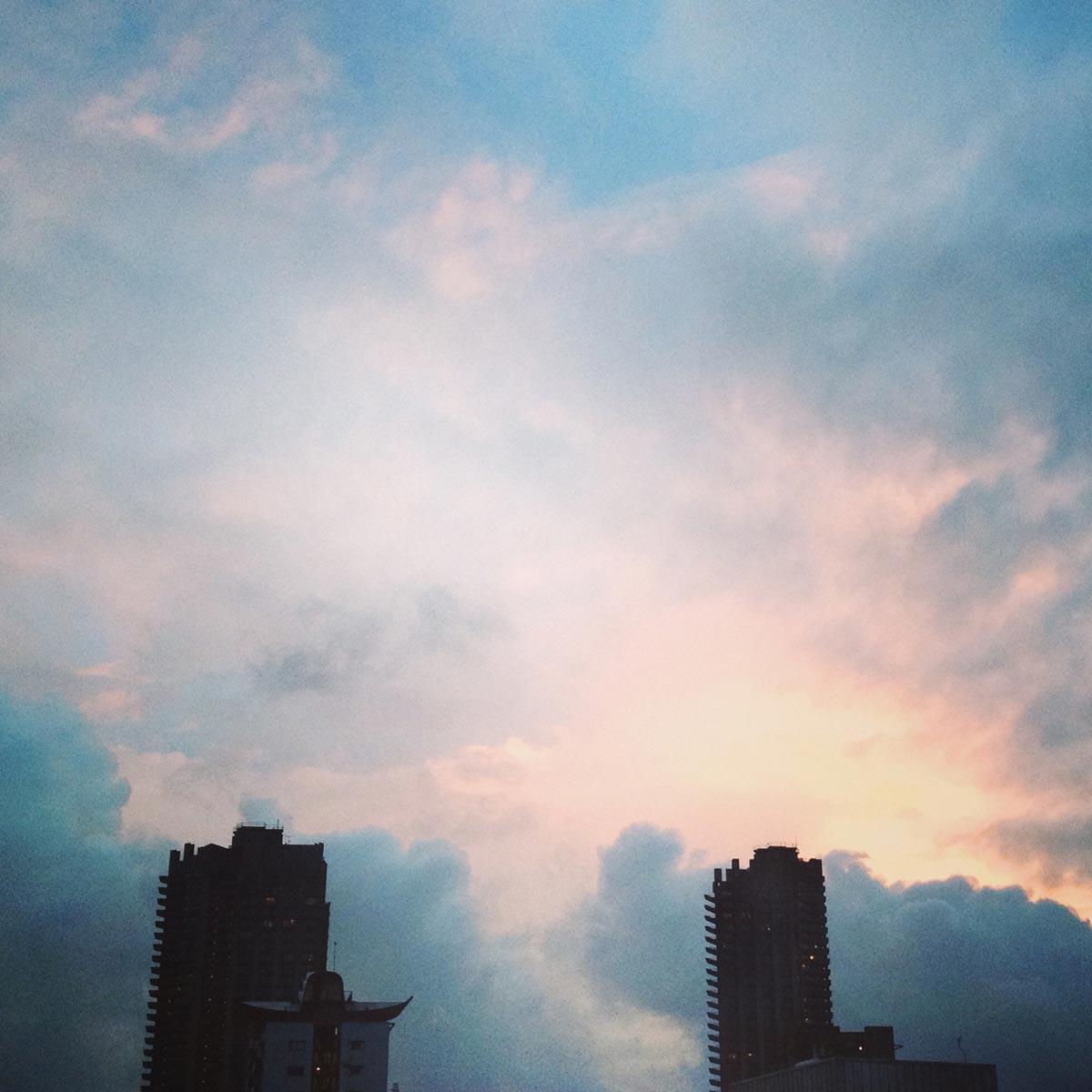 Barbican sunset