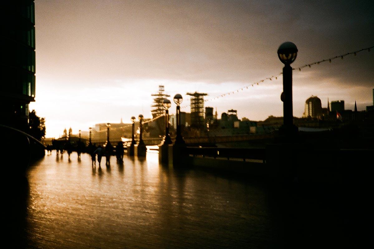 City Hall sunset, London