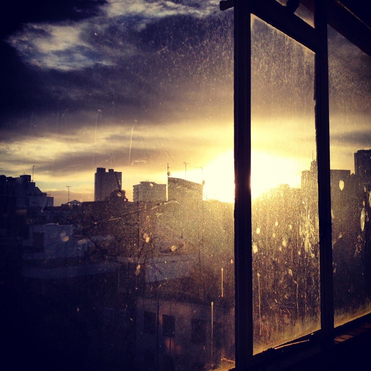 Barbican sunrise