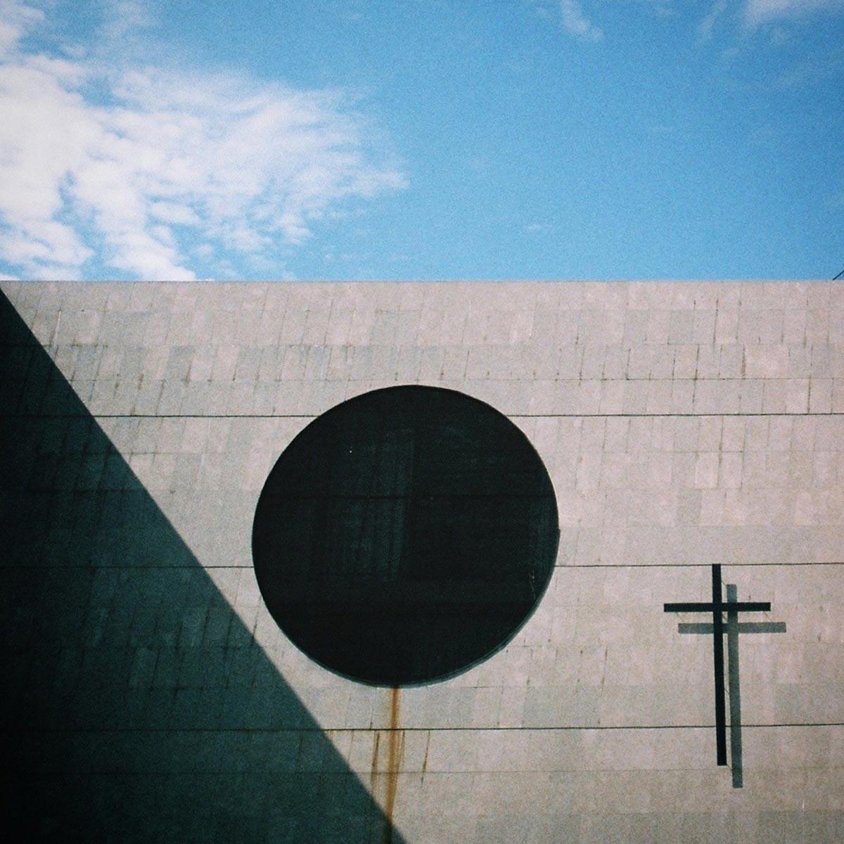 Minimalist church, La Rambla, Barcelona