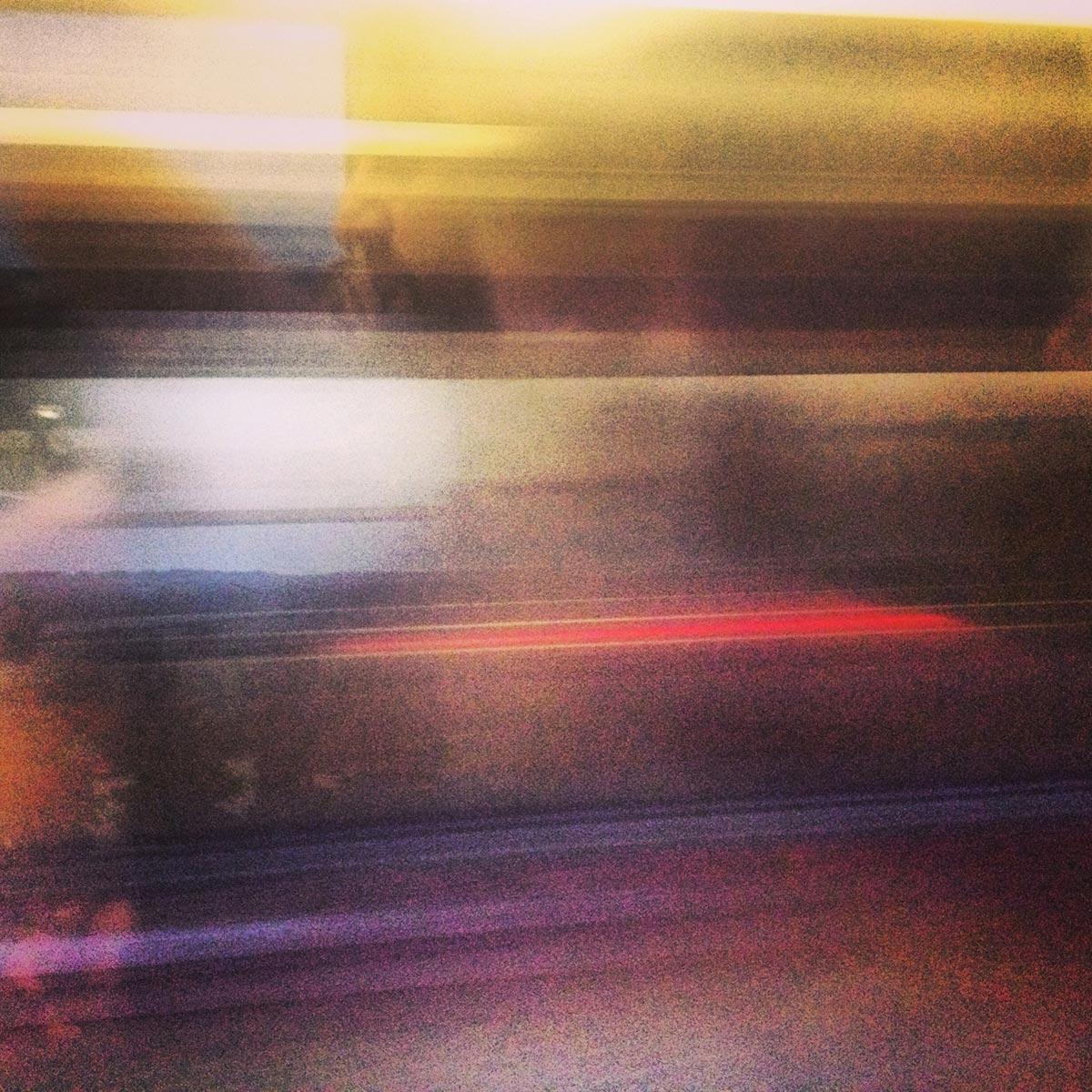 Ambient train journey