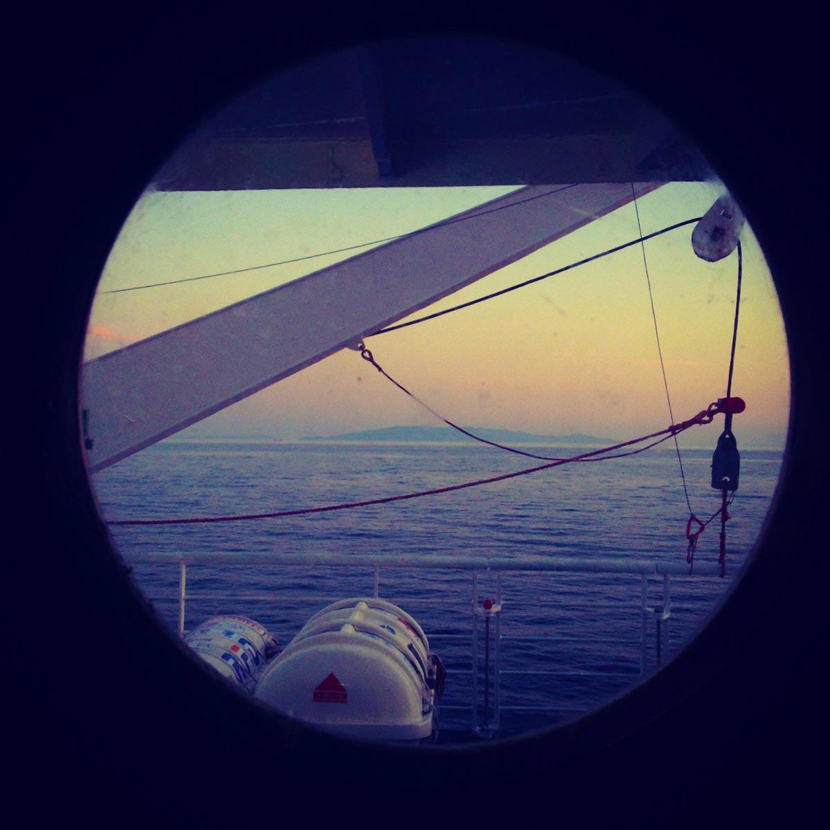 Cyclades sunset