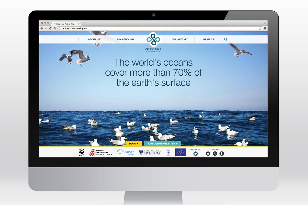 Celtic Seas Partnership website