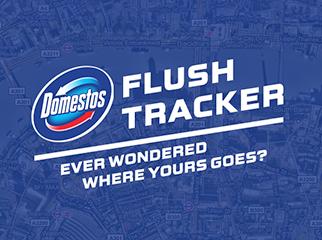 Domestos - Flush Tracker