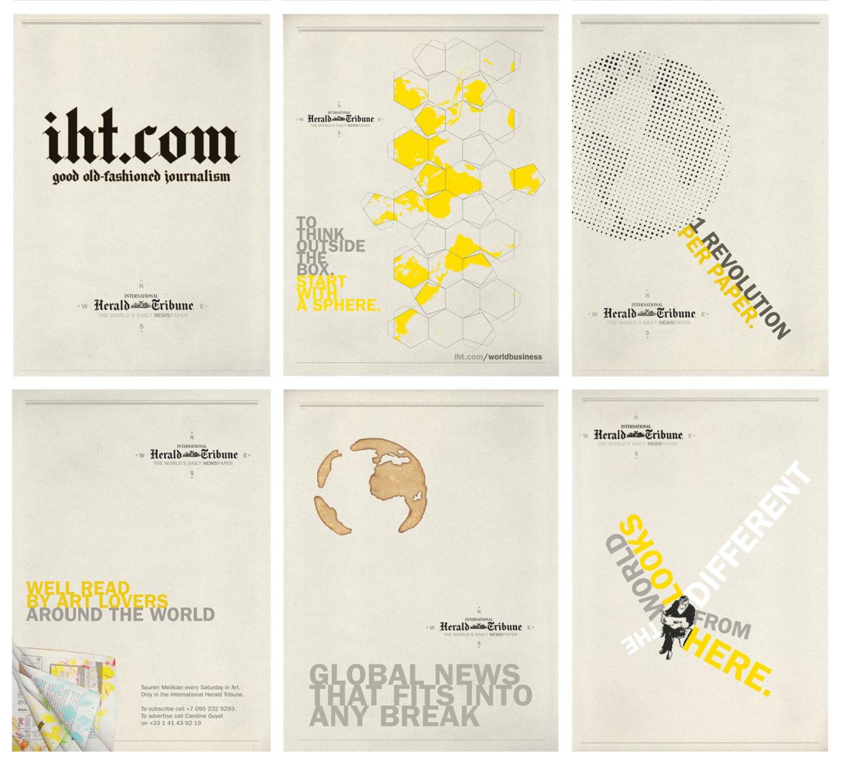 IHT N.S.E.W posters