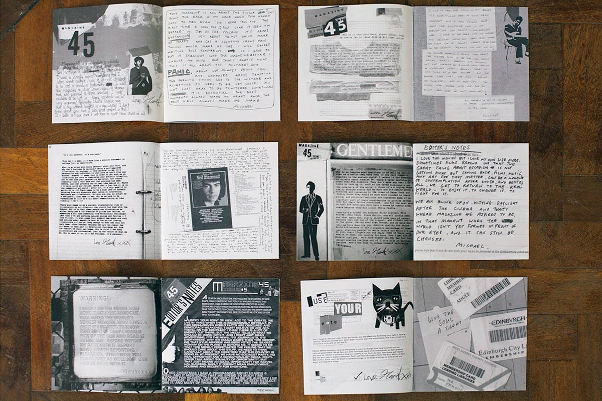 Magazine 45 - Editors Notes