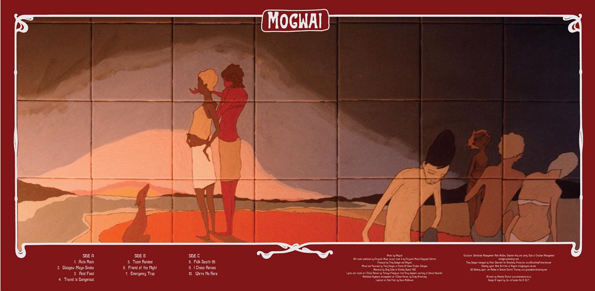 Mogwai - Mr Beast - Vinyl centrefold