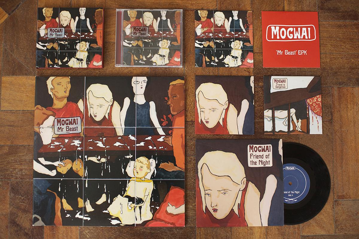 Mogwai - Mr Beast - front covers