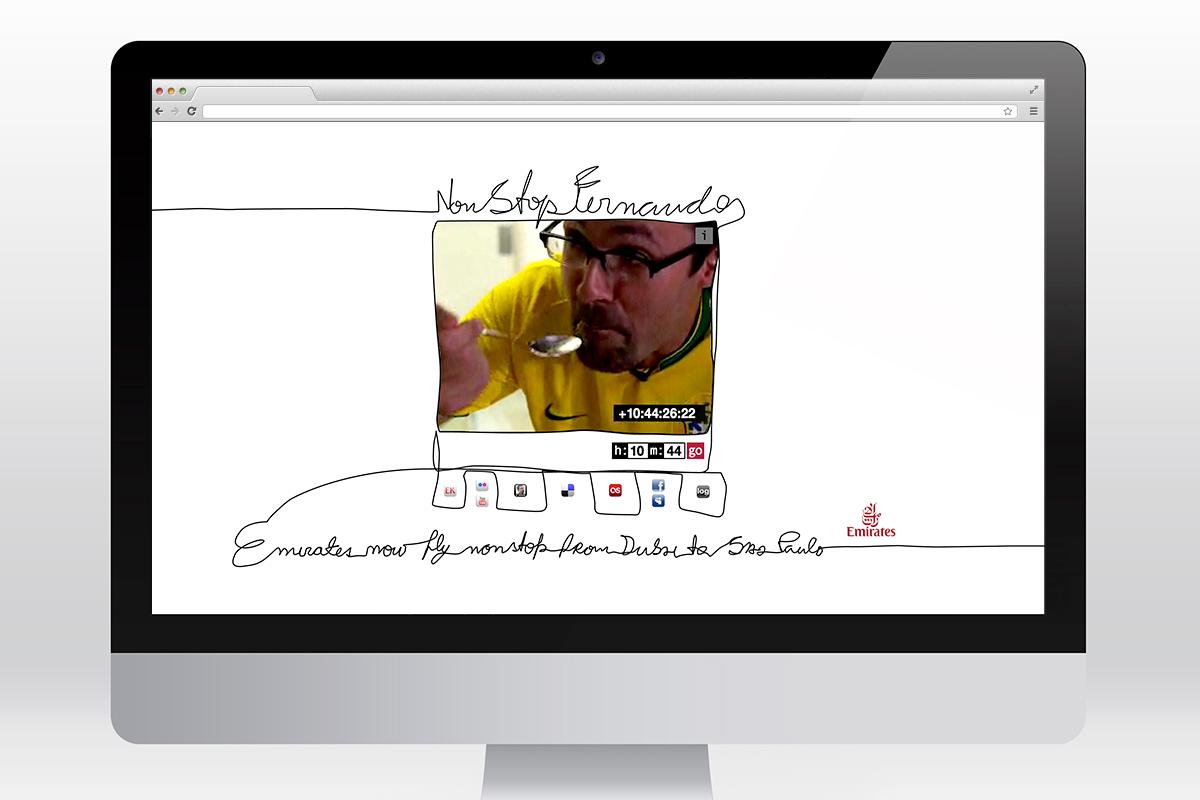 Emirates - Nonstopfernando website