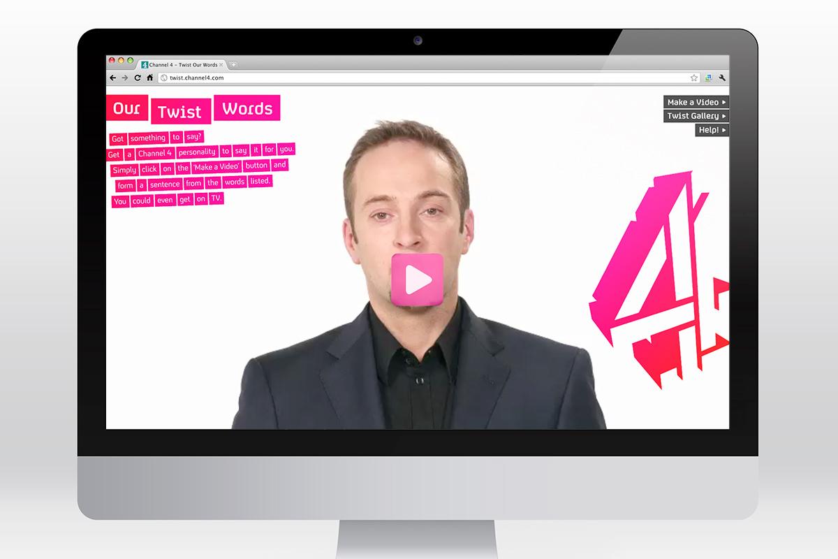C4 - Twist Our Words website