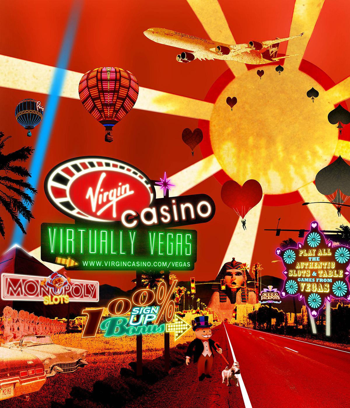 Virgin Casino - Virtually Vegas poster